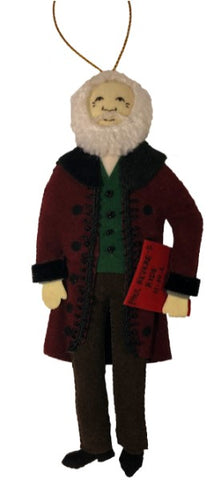 Henry Longfellow Ornament