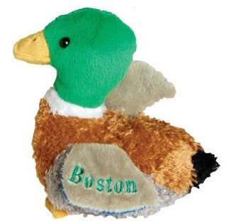 Quacking Boston Mallard Plush