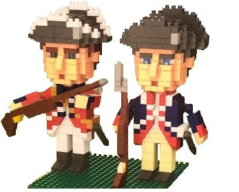 Revolutionary Soldiers Mini Building Blocks
