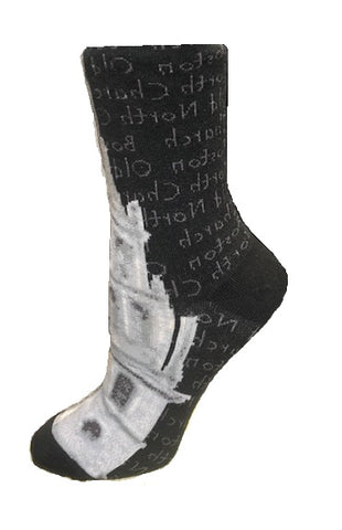 Old North Steeple Socks