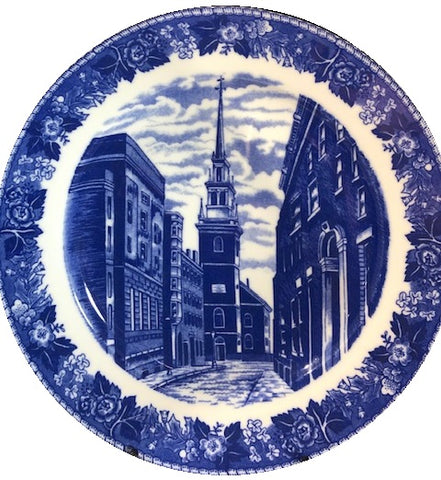 English Staffordshire Plates