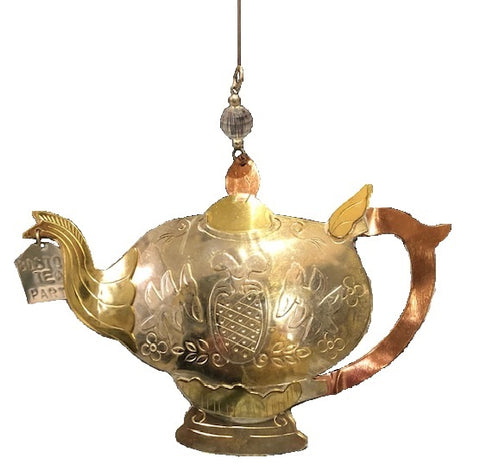 Boston Teapot Ornament
