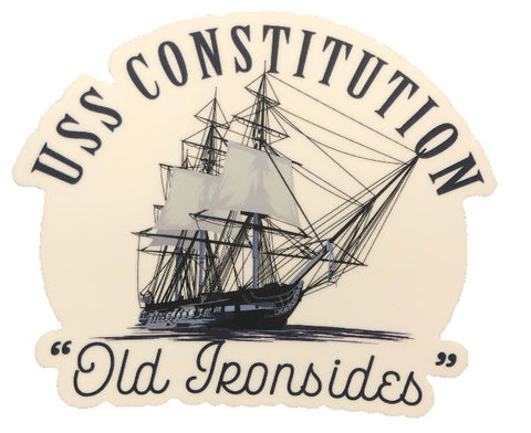USS Constitution Sticker
