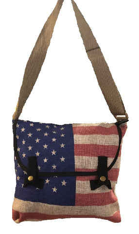 Flag Crossbody Bag