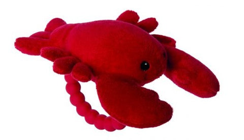 Lobster Rattle Teether