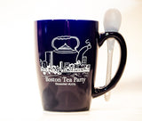 Boston Tea Party Mug with Spoon