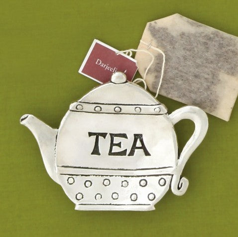 Pewter Teabag Holder