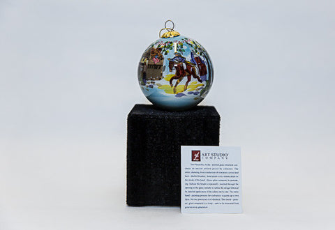 Paul Revere's Ride Christmas Ornament