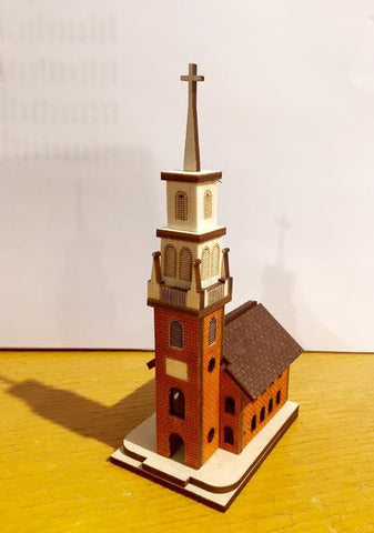 Ginger Cottage-Old North Church Model