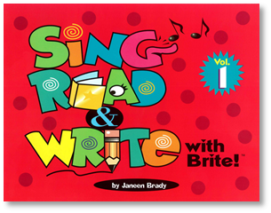 Sing, Read & Write with Brite #1
