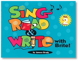 Sing, Read & Write with Brite #2