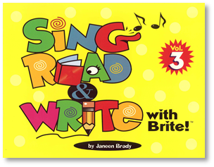 Sing, Read & Write with Brite #3