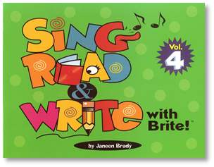 Sing, Read & Write with Brite #4