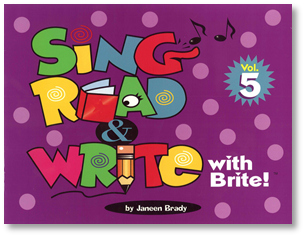 Sing, Read & Write with Brite #5