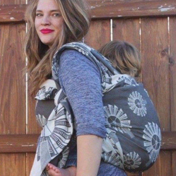 "Windmills ""Equinox"" - Bijou Wear Woven Wraps and Ring Slings baby carrier"