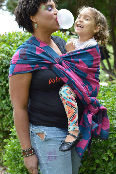 "Decadence ""Showstopper"" - Bijou Wear  baby carrier"