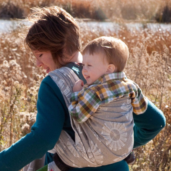"Windmills ""High Plains"" - Bijou Wear Woven Wraps and Ring Slings baby carrier"