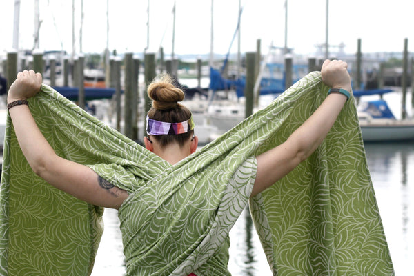 "Canopy ""Flora"" Woven Wrap - Bijou Wear Woven Wraps and Ring Slings baby carrier"
