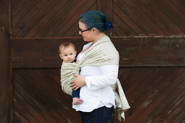 "Cleo ""Manhattan"" - Bijou Wear  baby carrier"
