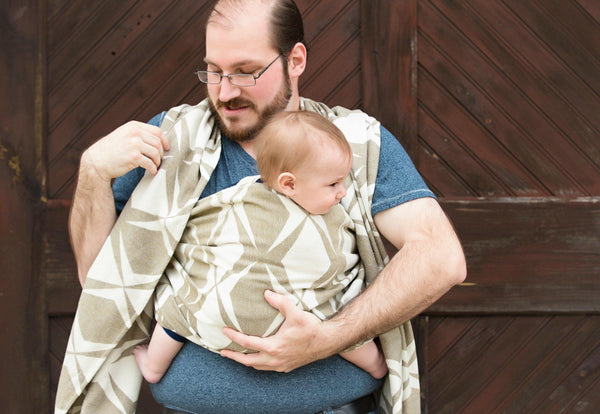 "Roxy ""Uptown"" - Bijou Wear Woven Wraps and Ring Slings baby carrier"