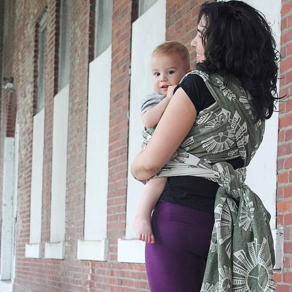 "Windmills ""Westy"" - Bijou Wear Woven Wraps and Ring Slings baby carrier"
