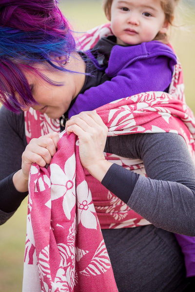 "Wildthing ""Kiss"" - Bijou Wear Woven Wraps and Ring Slings baby carrier"