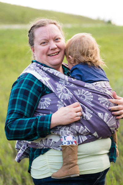"Windmills ""Wildflower"" - Bijou Wear Woven Wraps and Ring Slings baby carrier"