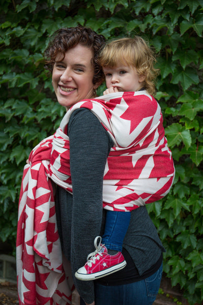 "Baskerville ""Foxy"" - Bijou Wear Woven Wraps and Ring Slings baby carrier"