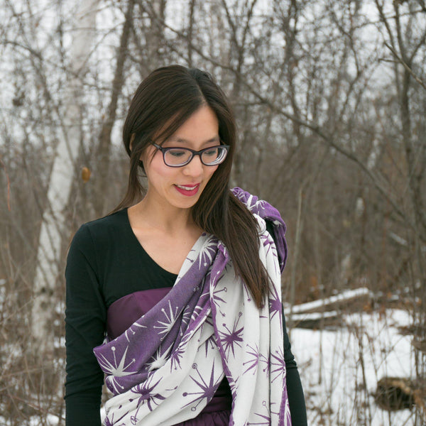 "Stella ""Nebula"" Woven Wrap - Bijou Wear Woven Wraps and Ring Slings baby carrier"
