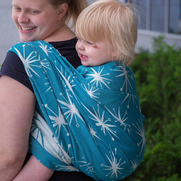"Stella ""Retro"" - Bijou Wear Woven Wraps and Ring Slings baby carrier"