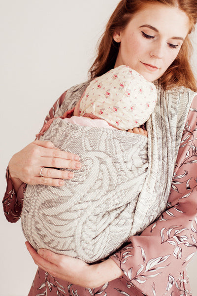 "Arcadia ""Hippo"" - Bijou Wear Woven Wraps and Ring Slings baby carrier"
