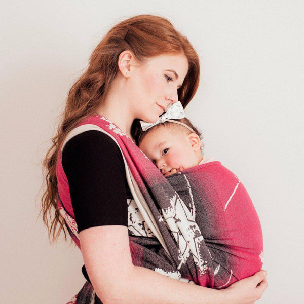 "Anthem ""Punk"" - Bijou Wear Woven Wraps and Ring Slings baby carrier"