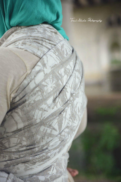 "Blast ""Birch"" - Bijou Wear Woven Wraps and Ring Slings baby carrier"