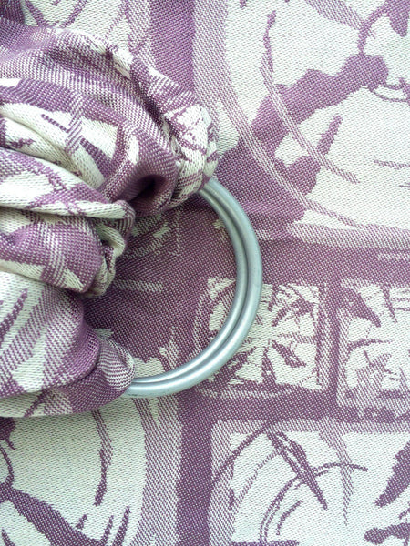 "Blast ""Lilac"" - Bijou Wear Woven Wraps and Ring Slings baby carrier"