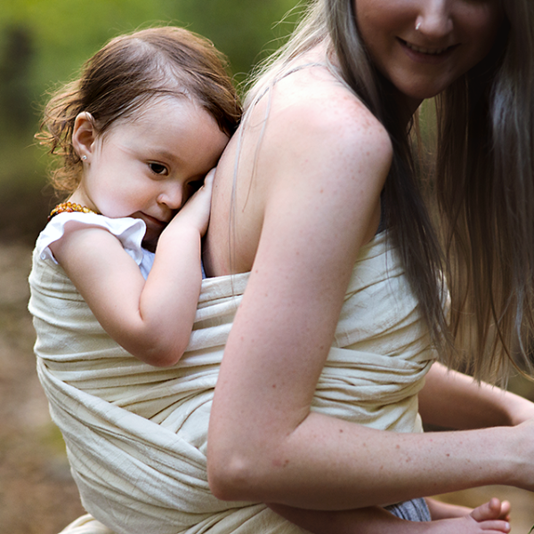 "Cleo ""Bliss"" - Bijou Wear Woven Wraps and Ring Slings baby carrier"