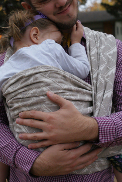 """Sandia"" Mountains - Bijou Wear Woven Wraps and Ring Slings baby carrier"