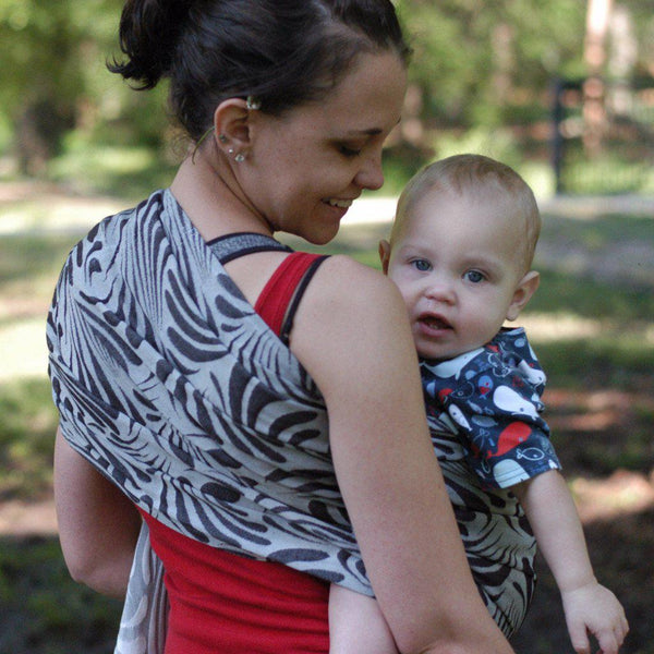 "Splash ""Classic"" REPREVE®/Cotton Blend Ring Sling - Bijou Wear Woven Wraps and Ring Slings baby carrier"