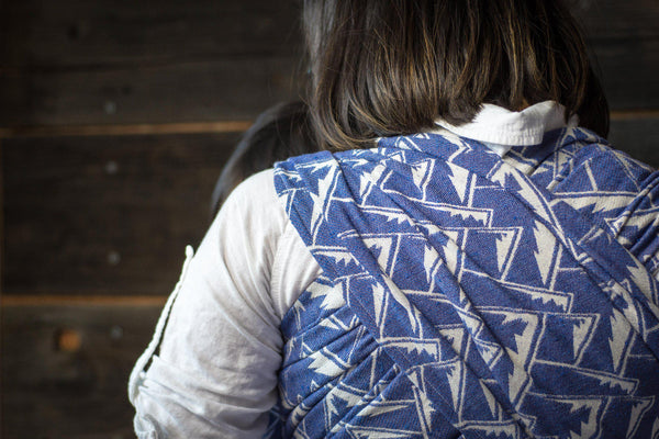"""Olympic"" Mountains - Bijou Wear Woven Wraps and Ring Slings baby carrier"