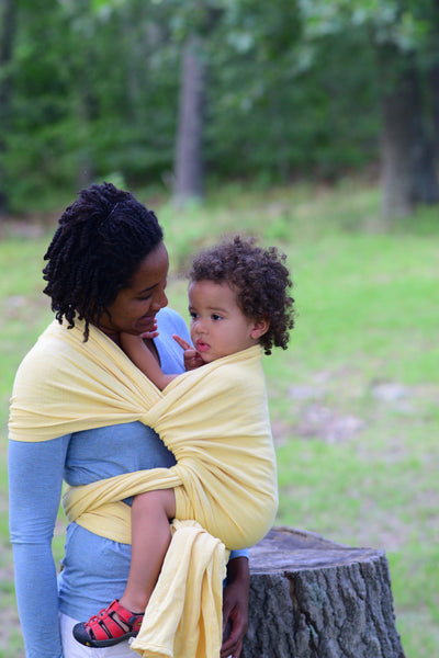 """Dandelion"" Chronicle - Bijou Wear Woven Wraps and Ring Slings baby carrier"
