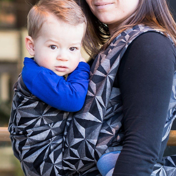 "Tessa ""Heartbreak"" Woven Wrap - Bijou Wear Woven Wraps and Ring Slings baby carrier"