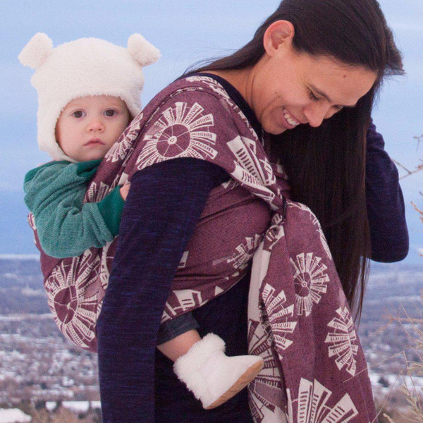 "Windmills ""Blaze"" - Bijou Wear Woven Wraps and Ring Slings baby carrier"