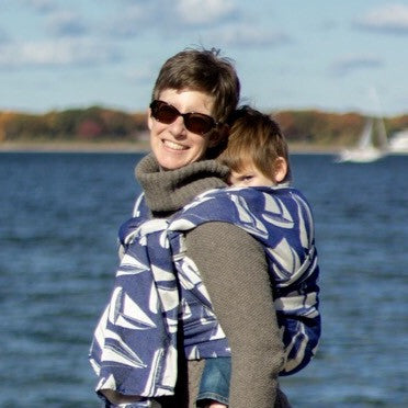 "Newport ""Meridian"" - Bijou Wear Woven Wraps and Ring Slings baby carrier"