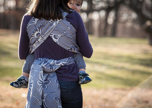 "Cleo ""Broadway"" - Bijou Wear Woven Wraps and Ring Slings baby carrier"