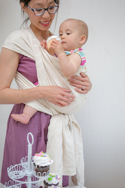 "Misfit ""Sugar Rush"" - Bijou Wear Woven Wraps and Ring Slings baby carrier"