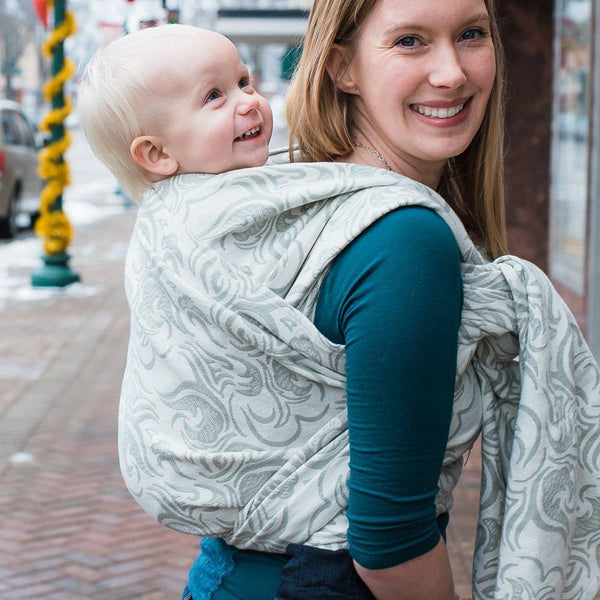 "Mythos ""Titania"" - Bijou Wear Woven Wraps and Ring Slings baby carrier"