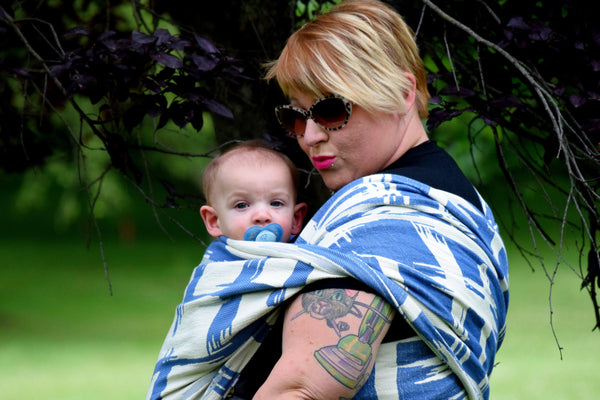 "Plaidass ""Charlie"" - Bijou Wear Woven Wraps and Ring Slings baby carrier"