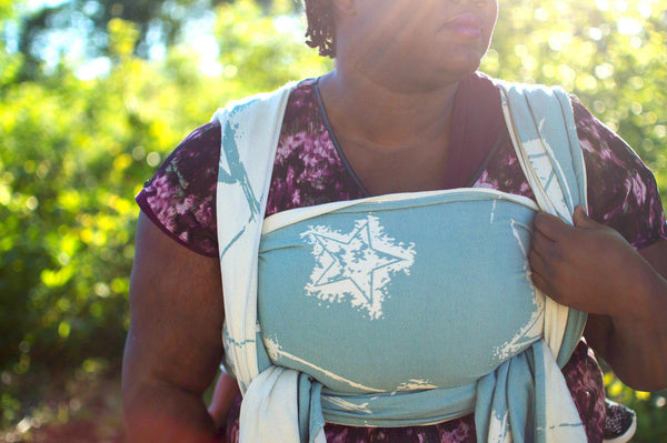 "Anthem ""Bluegrass"" - Bijou Wear Woven Wraps and Ring Slings baby carrier"