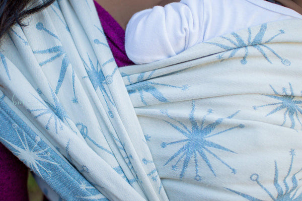 "Stella ""Wonderland"" - Bijou Wear Woven Wraps and Ring Slings baby carrier"