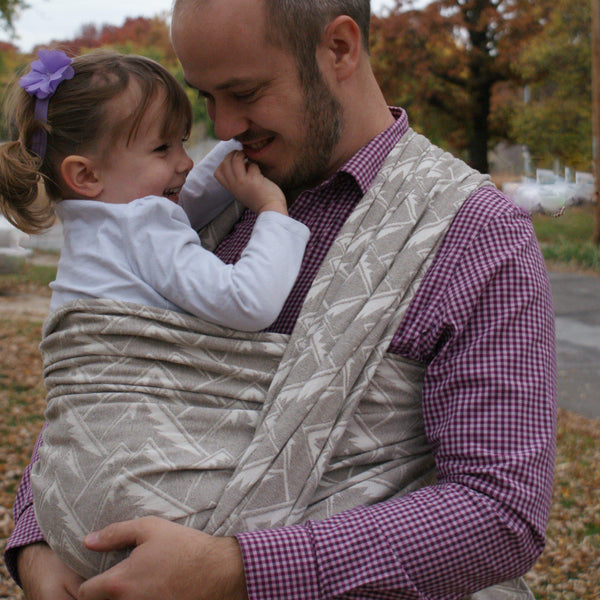 """Sandia"" Mountains Woven Wrap - Bijou Wear Woven Wraps and Ring Slings baby carrier"