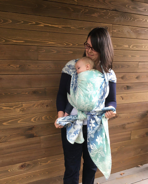 "Wildchild ""Tropical"" - Bijou Wear Woven Wraps and Ring Slings baby carrier"